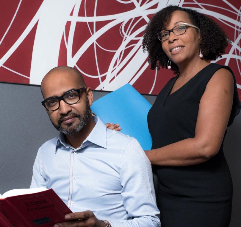 Christelle Reyno et Frédéric Fanfant Avocats de Guadeloupe